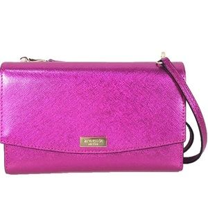 Kate Spade leather cluth crossbody bag